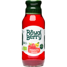 Royal Berry Organic Raspberry-Quince Fruit Juice 285ml