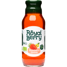 Royal Berry Organic Strawberry-Quince Fruit Juice 285ml