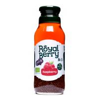 Royal Berry Organic Raspberry Fruit Juice with Chia 285ml
