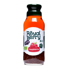 Royal Berry Organic Raspberry Fruit Juice with Chia 285ml