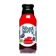 Royal Berry Organic Red currant Fruit Juice with Chia 285ml