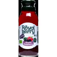 Royal Berry Organic Aronia Raspberry Fruit Juice with Chia 285ml